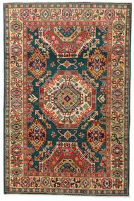 Kazak Teppich  119X183 Echter Orientalischer Handgeknüpfter Dunkelgrau/Rot (Wolle, Pakistan)