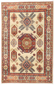 Kazak Teppich  119X186 Echter Orientalischer Handgeknüpfter Beige/Hellbraun (Wolle, Afghanistan)