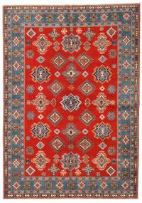 Kazak Teppich  169X238 Echter Orientalischer Handgeknüpfter Rost/Rot/Hellbraun (Wolle, Afghanistan)