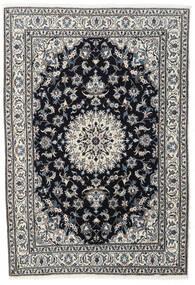 Nain Teppich  167X243 Echter Orientalischer Handgeknüpfter Schwartz/Dunkelgrau (Wolle, Persien/Iran)