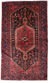 Hamadan Teppich  132X224 Echter Orientalischer Handgeknüpfter Dunkelrot/Dunkelbraun (Wolle, Persien/Iran)