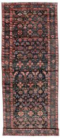Sautchbulag 1920-1940 Teppich 230X620 Echter Orientalischer Handgeknüpfter Läufer Schwartz/Dunkelrot (Wolle, Persien/Iran)