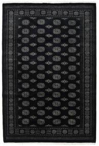 Pakistan Buchara 3Ply Teppich  203X302 Echter Orientalischer Handgeknüpfter Schwartz/Dunkelgrau (Wolle, Pakistan)