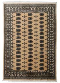 Pakistan Buchara 2Ply Teppich  163X241 Echter Orientalischer Handgeknüpfter Dunkelgrau/Hellbraun (Wolle, Pakistan)