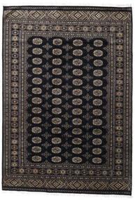 Pakistan Buchara 2Ply Teppich  171X247 Echter Orientalischer Handgeknüpfter Schwartz/Dunkelgrau (Wolle, Pakistan)