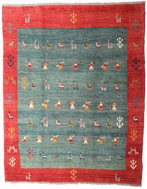 Gabbeh Rustic Teppich 259X326 Echter Moderner Handgeknüpfter Türkisblau/Rost/Rot Großer (Wolle, Persien/Iran)