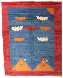 Gabbeh Rustic Teppich 208X265 Echter Moderner Handgeknüpfter Blau/Rot (Wolle, Persien/Iran)