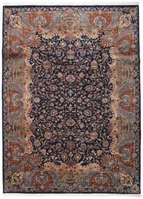 Kashmar Indisch Teppich 254X342 Echter Orientalischer Handgeknüpfter Schwartz/Dunkelbraun Großer (Wolle, Indien)