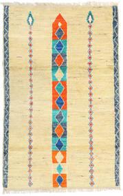 Moroccan Berber - Afghanistan Teppich  113X182 Echter Moderner Handgeknüpfter Dunkel Beige/Beige (Wolle, Afghanistan)
