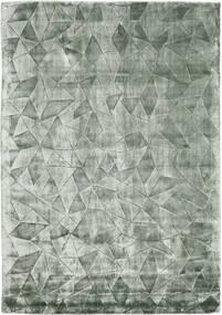 Crystal - 2. Wahl Teppich  140X200 Moderner Dunkelgrün/Dunkelgrün ( Indien)