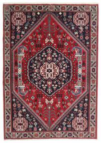 Gabbeh Kashkuli Teppich 100X142 Echter Moderner Handgeknüpfter Dunkelblau/Rot (Wolle, Persien/Iran)