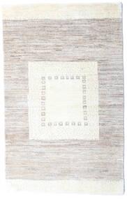 Loribaft Persisch Teppich  78X125 Echter Moderner Handgeknüpfter Hellgrau/Weiß/Creme (Wolle, Persien/Iran)