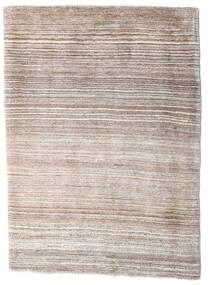 Loribaft Persisch Teppich  80X120 Echter Moderner Handgeknüpfter Hellgrau/Weiß/Creme (Wolle, Persien/Iran)