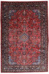 Hamadan Shahrbaf Teppich  217X315 Echter Orientalischer Handgeknüpfter Dunkelrot/Dunkelbraun (Wolle, Persien/Iran)