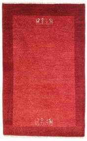 Loribaft Persisch Teppich  79X128 Echter Moderner Handgeknüpfter Rot/Rost/Rot (Wolle, Persien/Iran)