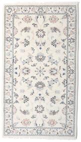 Kashmar Teppich  78X138 Echter Orientalischer Handgeknüpfter Hellgrau/Beige (Wolle, Persien/Iran)