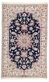 Kashmar Teppich 77X130 Echter Orientalischer Handgeknüpfter Weiß/Creme/Hellgrau (Wolle, Persien/Iran)