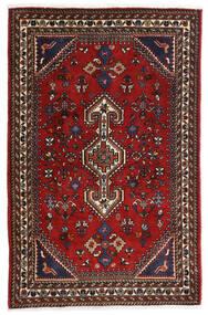 Ghashghai Teppich 80X125 Echter Orientalischer Handgeknüpfter Dunkelrot/Schwartz/Rost/Rot (Wolle, Persien/Iran)
