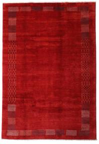 Loribaft Persisch Teppich  202X294 Echter Moderner Handgeknüpfter Rost/Rot/Dunkelrot (Wolle, Persien/Iran)