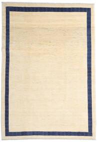 Loribaft Persisch Teppich  216X309 Echter Moderner Handgeknüpfter Beige/Dunkellila (Wolle, Persien/Iran)