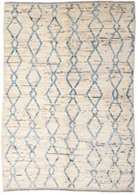 Moroccan Berber - Afghanistan Teppich  165X233 Echter Moderner Handgeknüpfter Beige/Hellgrau (Wolle, Afghanistan)