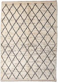 Moroccan Berber - Afghanistan Teppich  172X232 Echter Moderner Handgeknüpfter Hellgrau/Beige (Wolle, Afghanistan)