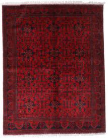 Afghan Khal Mohammadi Teppich 174X220 Echter Orientalischer Handgeknüpfter Dunkelrot/Rot (Wolle, Afghanistan)