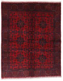 Afghan Khal Mohammadi Teppich 148X187 Echter Orientalischer Handgeknüpfter Dunkelrot/Rot (Wolle, Afghanistan)