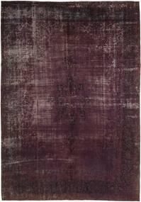 Vintage Heritage Teppich  290X423 Echter Moderner Handgeknüpfter Schwartz/Dunkelbraun Großer (Wolle, Persien/Iran)