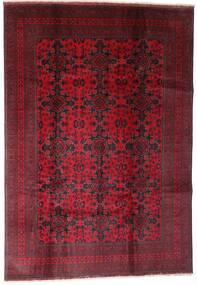 Afghan Khal Mohammadi Teppich 202X290 Echter Orientalischer Handgeknüpfter Dunkelrot (Wolle, Afghanistan)