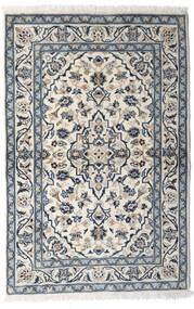 Keshan Teppich 100X150 Echter Orientalischer Handgeknüpfter Hellgrau/Dunkelgrau (Wolle, Persien/Iran)