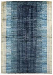 Battuta Teppich  170X231 Echter Moderner Handgeknüpfter Dunkelblau/Hellblau (Wolle, Afghanistan)