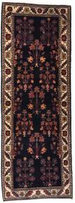 Gabbeh Kashkuli Teppich 82X223 Echter Moderner Handgeknüpfter Läufer Dunkelbraun/Dunkelrot (Wolle, Persien/Iran)