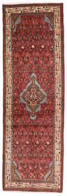 Asadabad Teppich  76X236 Echter Orientalischer Handgeknüpfter Läufer Dunkelbraun/Dunkelrot (Wolle, Persien/Iran)
