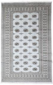 Pakistan Buchara 2Ply Teppich  199X310 Echter Orientalischer Handgeknüpfter Dunkelgrau/Hellgrau/Weiß/Creme (Wolle, Pakistan)