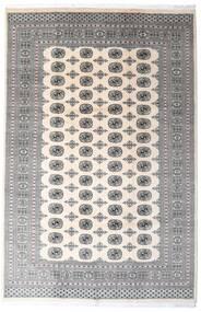 Pakistan Buchara 2Ply Teppich  200X305 Echter Orientalischer Handgeknüpfter Hellgrau/Beige/Dunkelgrau (Wolle, Pakistan)