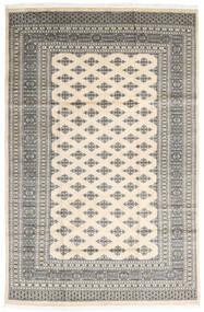 Pakistan Buchara 2Ply Teppich  182X279 Echter Orientalischer Handgeknüpfter Hellgrau/Beige (Wolle, Pakistan)