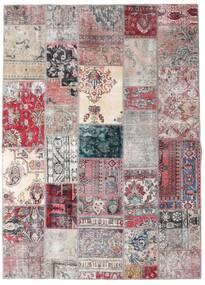 Patchwork - Persien/Iran Teppich  173X242 Echter Moderner Handgeknüpfter Hellgrau/Helllila (Wolle, Persien/Iran)