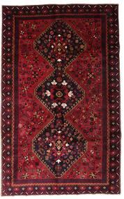 Lori Teppich 166X265 Echter Orientalischer Handgeknüpfter Dunkelrot (Wolle, Persien/Iran)