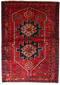 Lori Teppich 170X238 Echter Orientalischer Handgeknüpfter Dunkelrot/Dunkelbraun (Wolle, Persien/Iran)