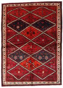 Lori Teppich 162X224 Echter Orientalischer Handgeknüpfter Dunkelrot (Wolle, Persien/Iran)