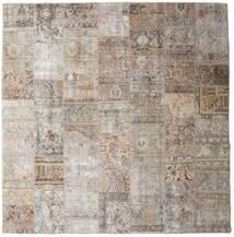Patchwork - Persien/Iran Teppich 252X256 Echter Moderner Handgeknüpfter Quadratisch Hellgrau Großer (Wolle, Persien/Iran)