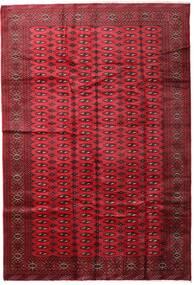 Turkaman Teppich  197X285 Echter Orientalischer Handgeknüpfter Dunkelrot/Rot (Wolle, Persien/Iran)