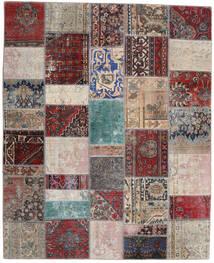 Patchwork - Persien/Iran Teppich 200X246 Echter Moderner Handgeknüpfter Hellgrau/Dunkelrot (Wolle, Persien/Iran)