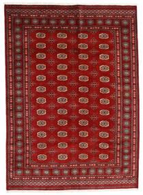 Pakistan Buchara 3Ply Teppich  174X240 Echter Orientalischer Handgeknüpfter Dunkelrot/Rost/Rot (Wolle, Pakistan)