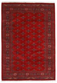 Pakistan Buchara 3Ply Teppich 169X240 Echter Orientalischer Handgeknüpfter Rost/Rot/Dunkelrot (Wolle, Pakistan)