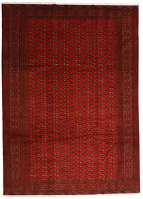 Turkaman Teppich 248X340 Echter Orientalischer Handgeknüpfter Rot/Rost/Rot (Wolle, Persien/Iran)