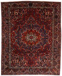 Bachtiar Teppich  310X382 Echter Orientalischer Handgeknüpfter Dunkelrot Großer (Wolle, Persien/Iran)