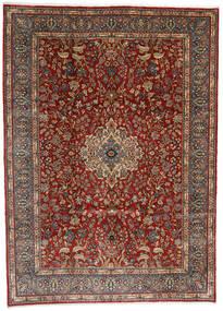 Sarough Teppich  282X392 Echter Orientalischer Handgeknüpfter Dunkelbraun/Hellbraun/Dunkelrot Großer (Wolle, Persien/Iran)