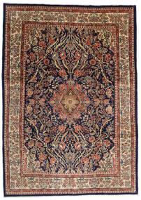 Sarough Teppich  277X387 Echter Orientalischer Handgeknüpfter Dunkelbraun/Hellbraun Großer (Wolle, Persien/Iran)